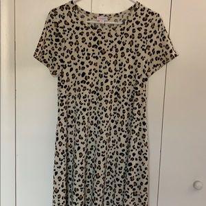 🐆 Leopard Print LulaRoe Jessie Dress